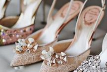 If the Shoe Fits / When it comes to wedding shoes, the options are endless and here you can find ideas that will inspire your selection! From Oscar de la Renta to Jimmy Choo, we've got it all!