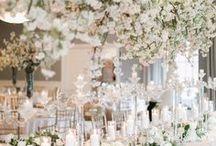 Wedding Flowers / Luxury wedding floral inspiration.