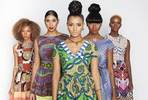 Colour my world with African influences.