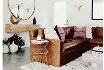 Home Decor + Style / A farmhouse sign, textured pillow or pop of floral changes everything. Inspiring styles for your home.