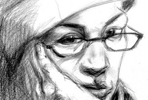 My Self-Portraits / Sketches, drawings, paintings