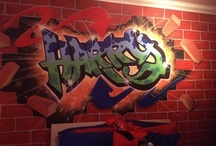 Kids Wall Murals / A Selection Of My Hand Painted Wall Murals
