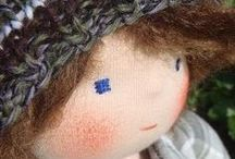Needle & Thread ~ Waldorf Doll DIY / by Lisa Gray