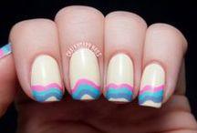 Nail art / fashion and beauty nail art