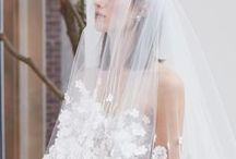 Headpieces & Veils / Whether classic and romantic or non-traditional and avant-garde, there is a veil and headpiece for every bride!