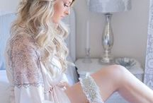 Lingerie & Loungewear / Luxury lingerie and loungewear inspiration to fulfill all of your silk and satin dreams.