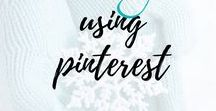 How to Use Pinterest / Maximize your Pinterest use to get the absolute most out of it you can. Though it is going to take time, eventually this will benefit you more than you can imagine! I've included a few pins and articles showing you how. Also, I'm monitoring this board from my account; please don't alter it.