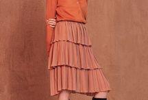 What to wear with Orange? / Kleurcombinaties met oranje, terra