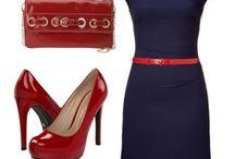 What to wear with Navy blue? / Kleurcombinaties met marineblauw, donkerblauw, inktblauw