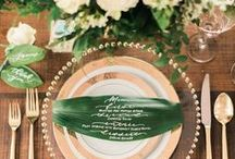 Table Settings / Not just serving pieces, these are the details that take your table design and elevate it.
