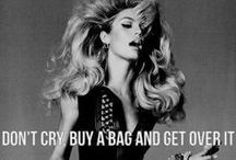 Bag It / Nothing beats a fantastic handbag. Period. / by Mia Bourdakos