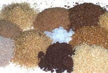 Sugars / Good sugar alternatives, bad sugars, sugar names and no sugar recipes.  / by Sherry Gammon