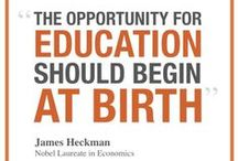 Start Early / Investing in quality early education for disadvantaged children -- starting at birth -- is most effective time to lay the foundation for success in school, career and life.