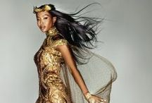 Queen Naomi / Arguably the greatest British Model, Naomi Campbell