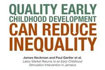 Reduce Inequality / Quality early childhood education can stimulate cognitive development and boost earnings, ultimately boosting economic growth and reducing inequality.