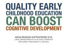 Enhance Cognitive Development / Research shows that quality early childhood development programs can improve cognitive development in disadvantaged children, ultimately leading to higher salaries and reduced inequality.
