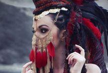 Head dress..