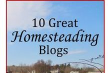 Good Reads for Homesteaders / Sites I want to read or have read on a variety of topics