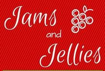 """Jams and Jellies / A collection of homemade Jelly and Jam recipes for freezer jam or canning.  Also check our crossover board """"CANNING FROM THE HOMESTEAD GARDEN"""" for additional recipes using Water Bath or Pressure Canning methods. https://www.pinterest.com/homesteadingins/canning-for-the-homestead-garden/"""