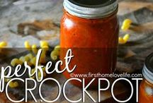 Crockpot Recipes for the Homestead / Anything and Everything you can make in a Crockpot.  Meat, Meatless, Vegetarian, Paleo, Beginners, Desserts, Butters and more!  Something for everyone is here!