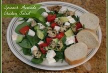 Salads to Enjoy on the Homestead / RETHINK YOUR SALADS! Healthy Salads as a main or side dish.  Meat and Meatless.  Pasta of all kinds. Hot and Cold. There's something for everyone here!