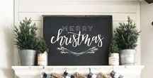 Christmas Decorating / Holiday Decor is both decorative and functional, it's your chance to create your own winter wonderland. Wether it is minimal or over the top, find all your inspiration here.