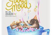 Good Mood #6: Una navidad Good Mood / Good Mood Magazine #6 - Una navidad Good Mood una Navidad diferente, una Navidad llena de colores vivos y música marchosa y bailable. Una Navidad DIY, participativa, viajera, colaborativa y sin estrés. En definitiva una Navidad divertida e ilusionante
