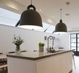 T E L F O R D / Home renovation and kitchen extension with crittall-style doors to garden and kids play area.