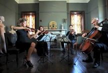 Orchestra in the lounge room