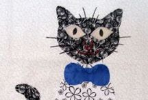 Carols Quilts Cat/Kitten template quilting / Using the Cat and Kitten Template for quilting from Carol's Quilts