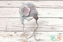 Mutsjes / Mutsjes voor baby's / newborns / 0 - 3maanden Verkrijgbaar via www.handmade2love.nl
