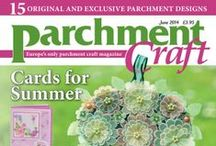 Parchment Craft June 2014 issue / Available to purchase from www.parchmentcraftmagazine.com or call 01778 395171. Or download digitally from www.pocketmags.com