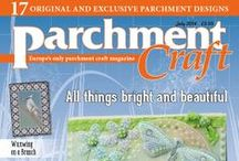Parchment Craft July 2014 issue / On sale 13th June! Purchase from www.parchmentcraftmagazine.com or call 01778 395171. Or download digitally from www.pocketmags.com