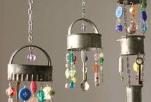 Wind chimes / ideas for making wind chimes