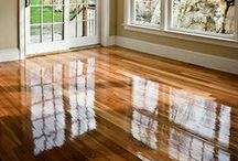 Ideas: Floors   Wood & Laminate / Inspiring ideas from around the web showcasing hardwood and laminate flooring.  Come in to our store with your dreams and ideas found here and elsewhere on the web!