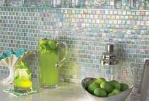 Ideas: Backsplashes & Niches / Inspiring ideas from around the web showcasing back splashes and tile niches.  Come in to our store with your dreams and ideas found here and elsewhere on the web!