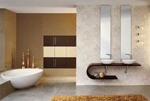 Ideas: Bathrooms   Modern / Some inspiring ideas from around the web showcasing modern bathroom designs to kick off your own dreams for building or renovating the perfect powder room!  Bring your wishlist to our showroom and speak with a sales rep about the types of products we carry so you can see those dreams come to fruition.