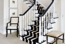 Ideas: Hallways & Entrances / Some inspirational ideas from around the web showcasing different hallways and entrances, foyers, connector rooms, etc.