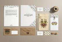 Graphisme - Identité visuelle / Concepts d'identité visuelle, branding...
