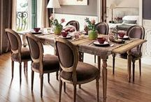 Ideas: Dining Rooms   Traditional / Inspiring ideas from around the web showcasing beautiful ideas for traditional dining rooms.  Come in to our store with your dreams and ideas found here and elsewhere on the web!
