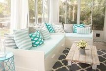 Ideas: Sunrooms / Bright ideas from the web showcasing amazing sunrooms.  These indoor spaces can have a variety of flooring options.  Stop by our showroom to talk with our design experts who will guide you to the best product choice for your glorious sunroom.
