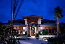 Contemporary Craftsman Residence / Truly a legacy property designed almost twenty years ago still provides a timeless blend of Wrightian, Oriental, and Transitional Tropical architecture.