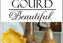 Gourdart / Inspirations and Tips for making things with gourds