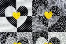 Carol Quilts Heart Quilting Templates / Inspiration and ideas using Carol's Quilt Heart Template set