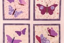 Inspiration for Butterfly Quilts and Quilts with Butterflies / Inspiration for using the Butterfly template from Carol's Quilts including other quilts that use different butterflies