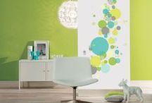 VERT/GREEN by Caselio / Oxygénez votre intérieur avec notre sélection de papier peint Caselio.