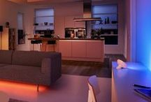 Home Lighting Ideas / Here we feature lighting systems that provide the correct tones for the correct occasion.