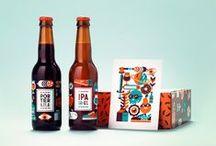 Graphisme - Packaging - Bouteilles / Étiquettes de vins et autres alcools.