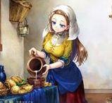 Fem Ilustrations / Art Illustrations  Girls Models.  Selección de ilustraciones crédito a sus ilustradores por sus obras de Arte.