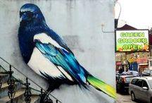 Art - Street art / Divers exemples de *street art*